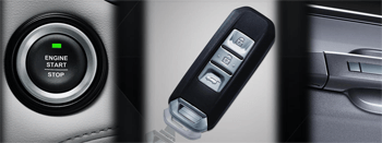 One Push Button (Start/Stop Engine) with Keyless Entry